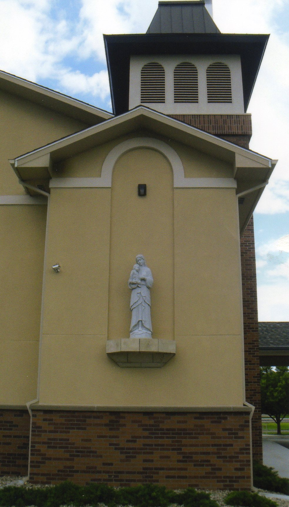 St Lawrence Statue